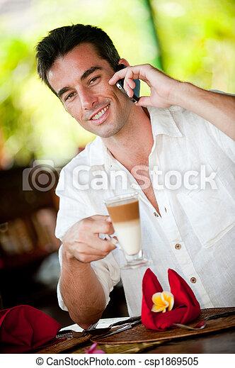 kávécserje, birtoklás, ember - csp1869505