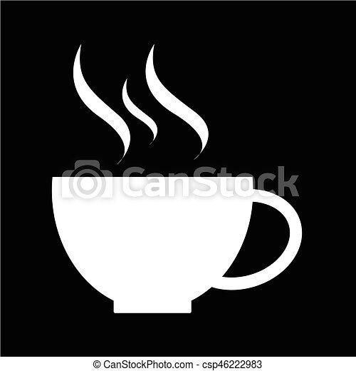 kávécserje, ikon - csp46222983