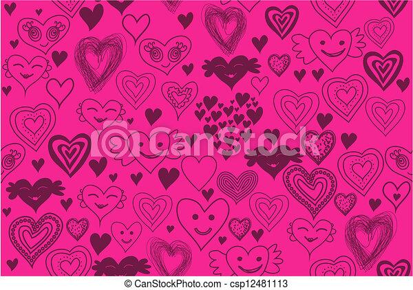 kärlek, bakgrund - csp12481113