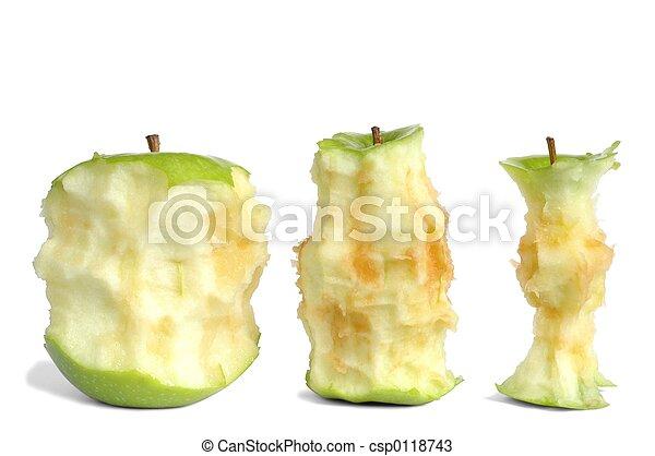kärnar ur, äpple - csp0118743