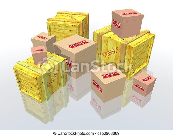 Kisten und Pakete - csp0963869