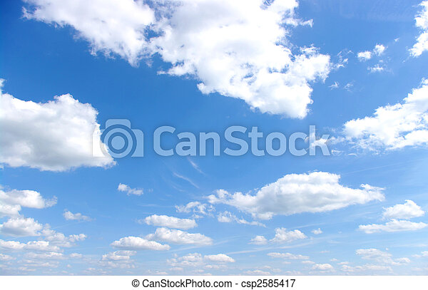 kék ég - csp2585417
