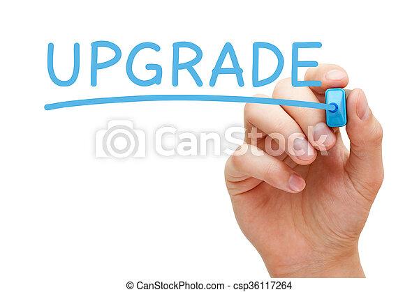 kék, könyvjelző, emelkedő - csp36117264
