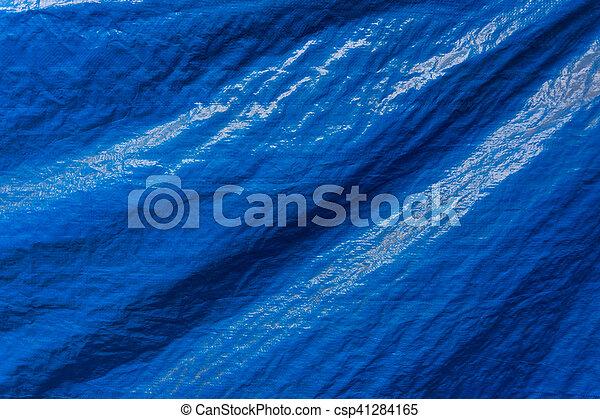 kék, motívum, struktúra, műanyag, ruhaanyag, háttér - csp41284165