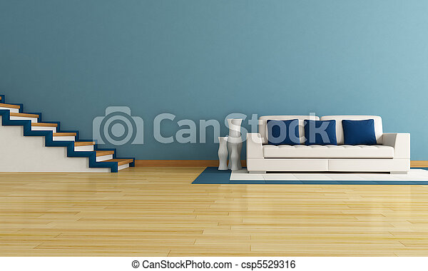 kék, nappali - csp5529316