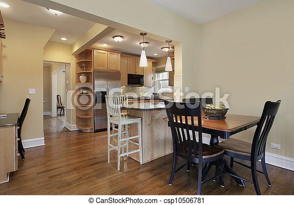 kök, ätande område - csp10506781