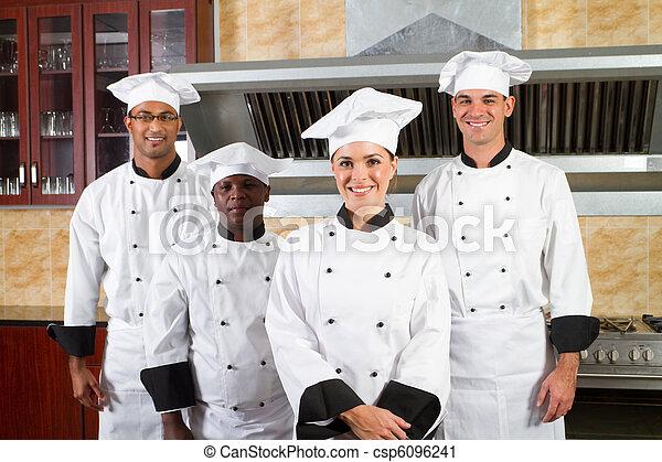 Diversity-Kochgruppe - csp6096241