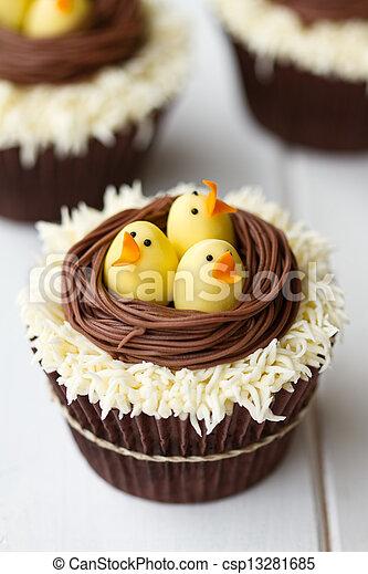 k ken cupcakes ostern thema cupcakes ostern bilder fotografien und foto clipart suchen. Black Bedroom Furniture Sets. Home Design Ideas