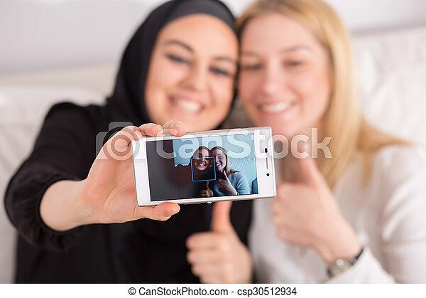 különböző, barátok, országok - csp30512934