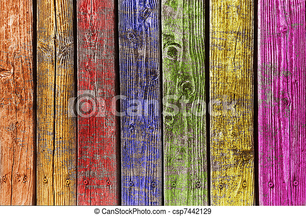 különböző, erdő, színes - csp7442129