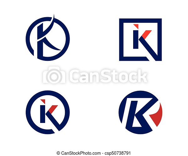 k letter logo template k letter business corporate logo eps rh canstockphoto ie letter k clipart black and white letter c clipart with vines