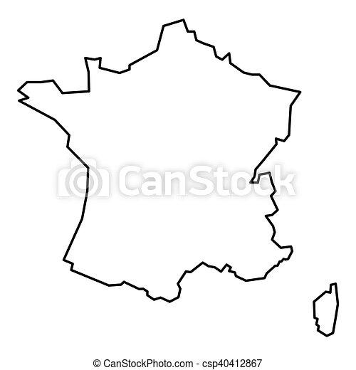 omtrek frankrijk
