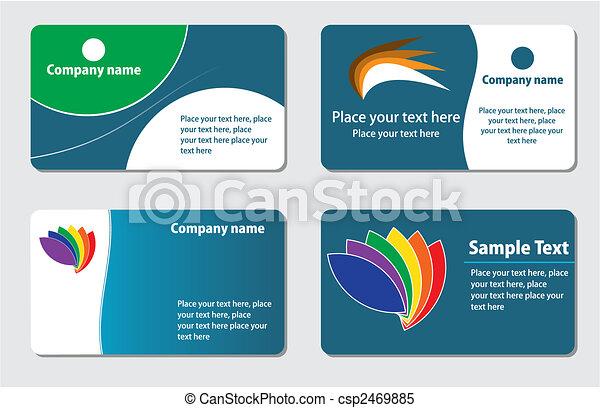 kaarten, zakelijk - csp2469885