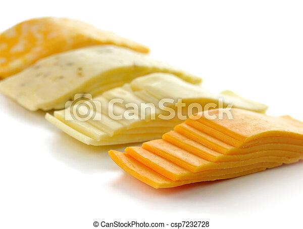 kaas, schijfen - csp7232728