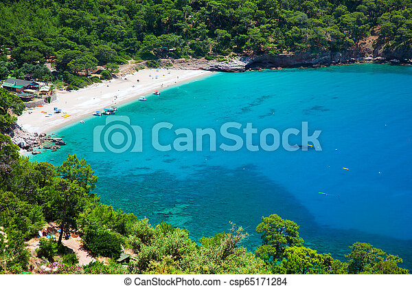 Kabak beach in Turkey - csp65171284