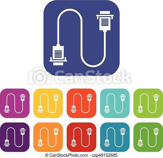 Rotes ethernet kabel makro Stock Illustrationen. 45 Rotes ethernet ...