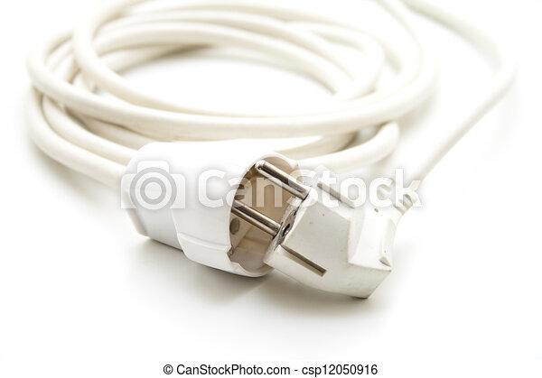 Kabel, weißes, elektrische strom Clipart - Suche Illustration ...