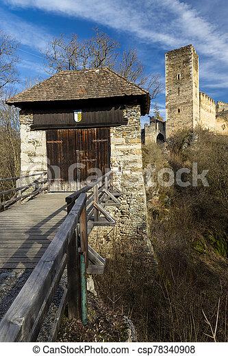Kaja castle in north Austria - csp78340908