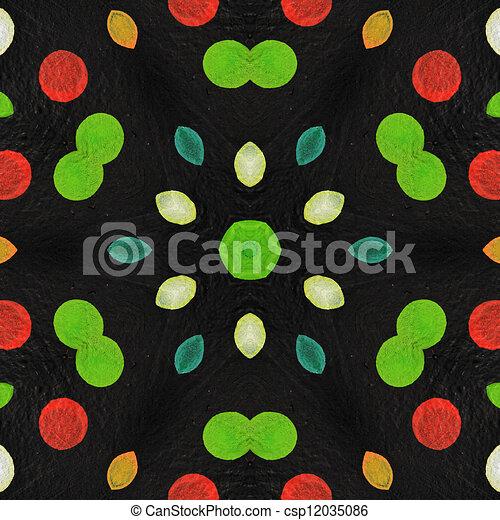 Kaleidoscope background - csp12035086