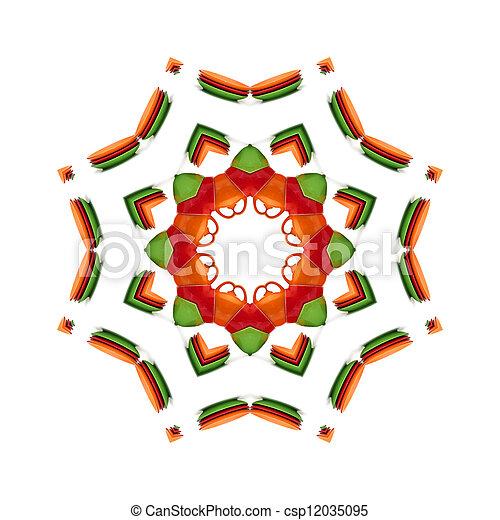 Kaleidoscope background - csp12035095