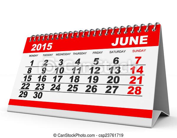 kalender juni 2015