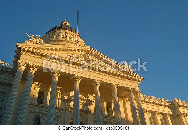 kalifornia, kongresszus székháza washingtonban - csp0303181