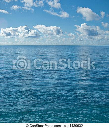 kalm, oceaan, vredig - csp1430632