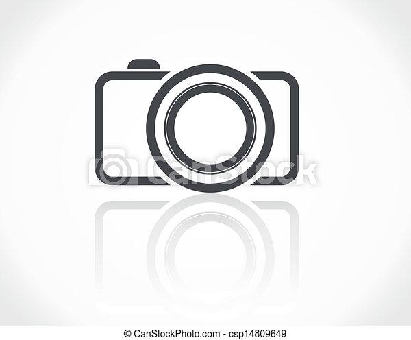 kamera, ikon - csp14809649