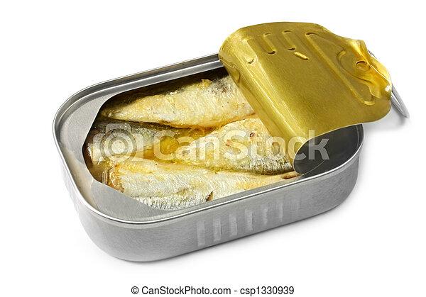 kan, sardinen - csp1330939