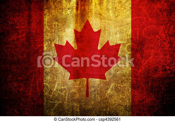 kanada flagg - csp4392561