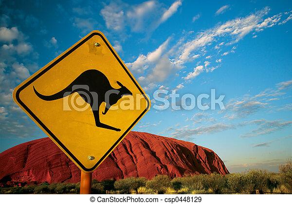 Kangaroo rock - csp0448129