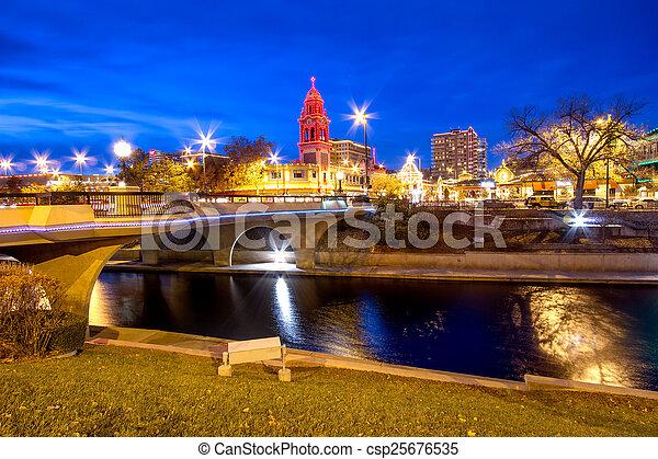 Kansas City Christmas - csp25676535