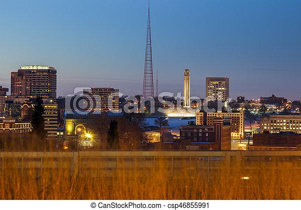 Kansas City panorama - csp46855991
