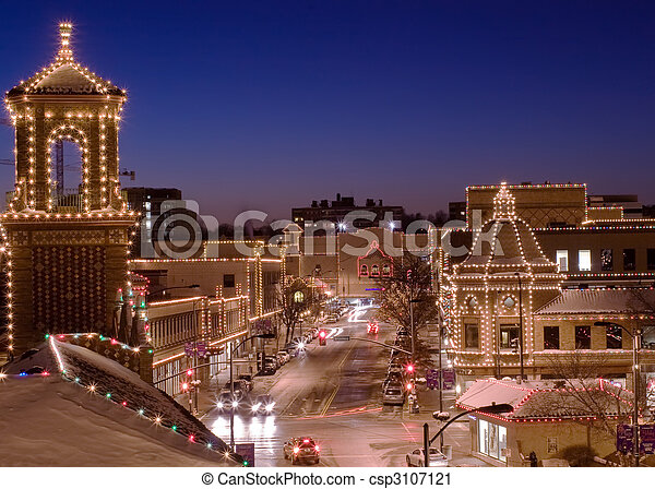 kansas city plaza lights csp3107121 - Christmas Lights In Kansas City