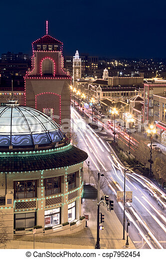 Kansas City Plaza Lights - csp7952454