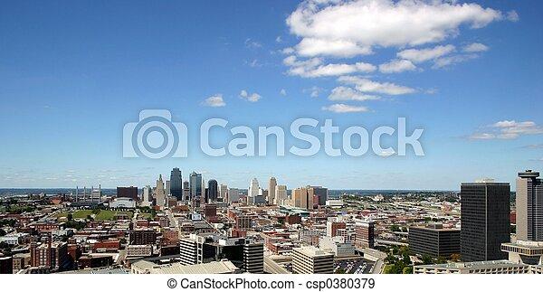 Kansas City skyline - csp0380379