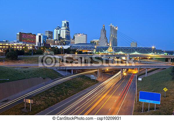 Kansas City. - csp10209931