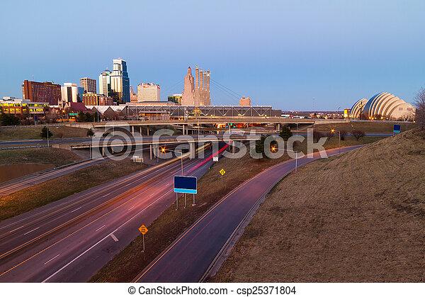 Kansas City without Trademarks - csp25371804