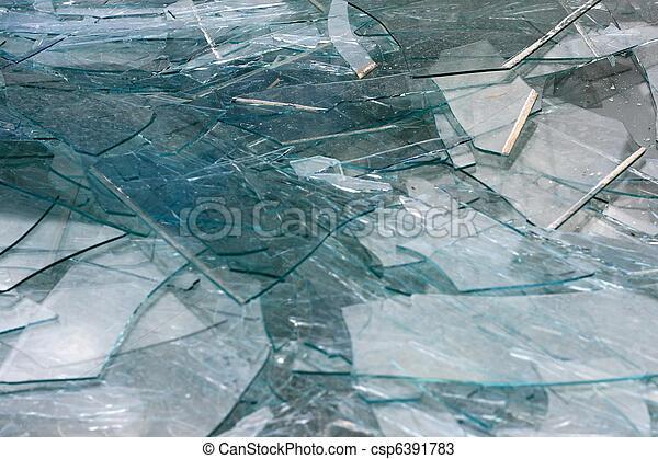 kapot, textuur, glas - csp6391783