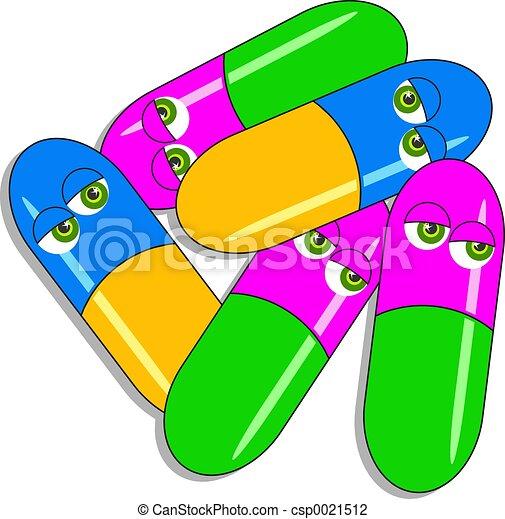 Drogenkapseln - csp0021512