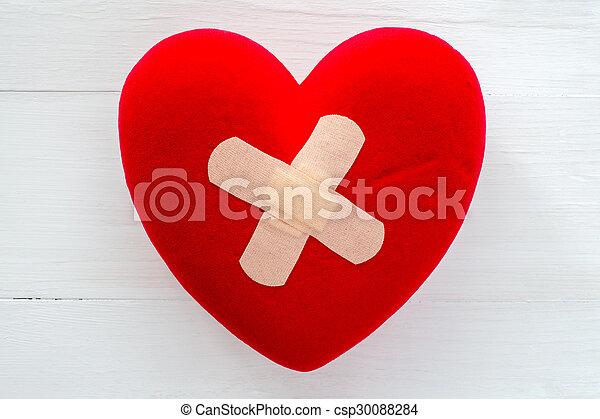 Herz verletzt