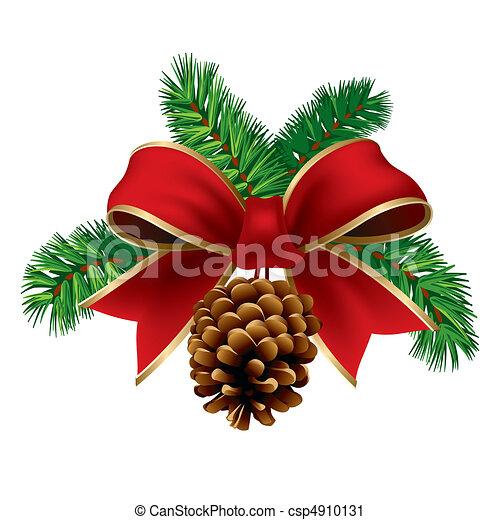 karácsony, szalag - csp4910131