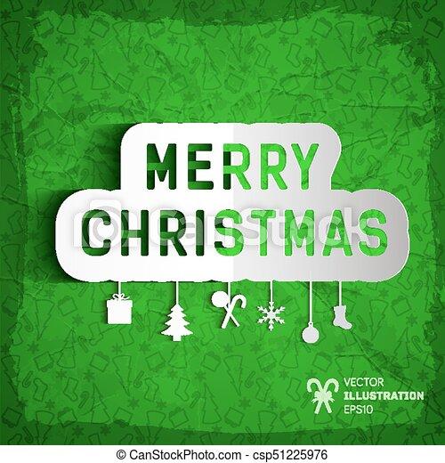 forró online értékesítés eltérően időtlen tervezés Karácsony, vidám, sablon. Vektor, felírás, elvág, vidám, tehetség ...