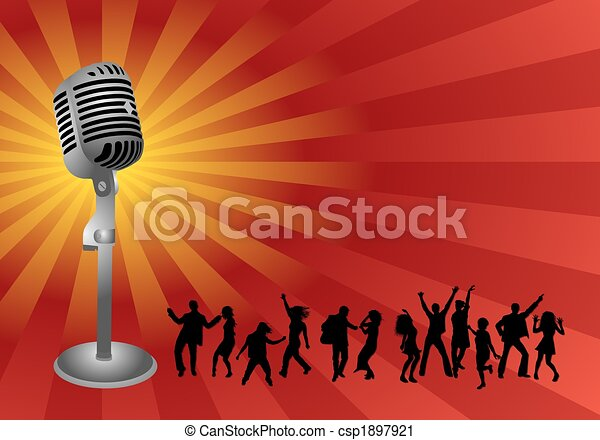Karaoke party.   450 x 335 jpeg 24kB