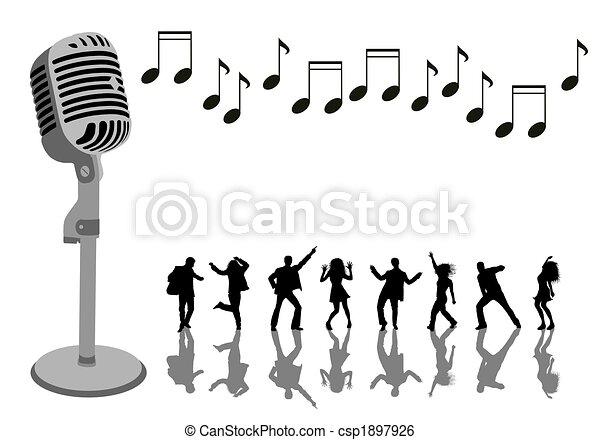 karaoke party - csp1897926