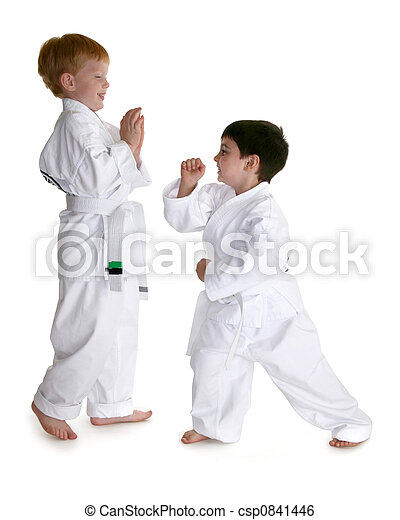 Karate Buddies - csp0841446