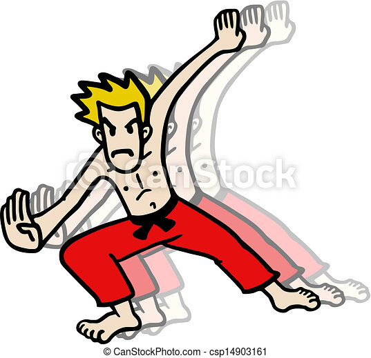 Karate man - csp14903161