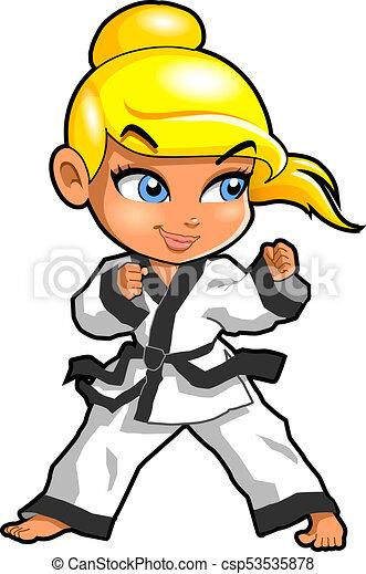 karate martial arts tae kwon do dojo vector clipart cartoon stock rh canstockphoto com martial arts clipart this computer martial arts clip art free download