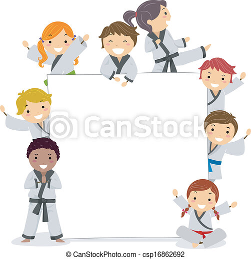 Dibujo Karate Ninos