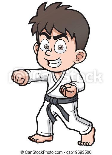 Karate Player - csp19693500